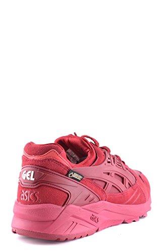 Asics Damen MCBI028001O Rot Wildleder Sneakers