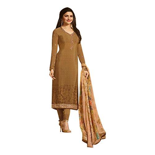 per misurare Personalizza Straight Suit abito pakistano 823 vestito indiano donne Party indiano Salwar designer Wear prachi desai musulmana Bollywood d4wZwq5p