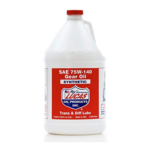 Lucas 10122 75/140 Synthetic Gear Oil - 1 Gallon