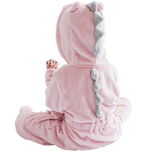 DQdq Little Girl's Unisexy Kids Coral Fleece Bathrobe Robe