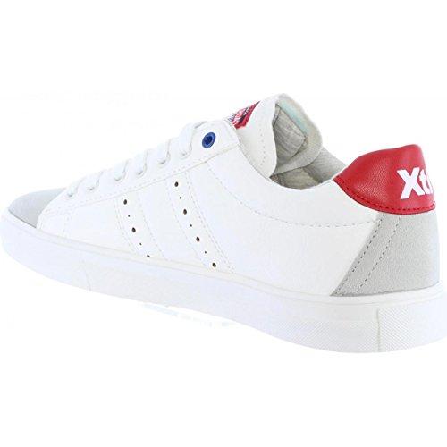 Xti Scarpe Sportive Per Uomo 46452 C Blanco-rojo