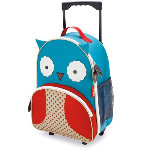 Skip Hop Kids Luggage with Wheels, Owl - http://coolthings.us