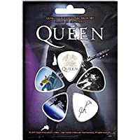 Queen/Brian May Set Of 5 Guitar Plectrums/Picks (rz) Licensed product