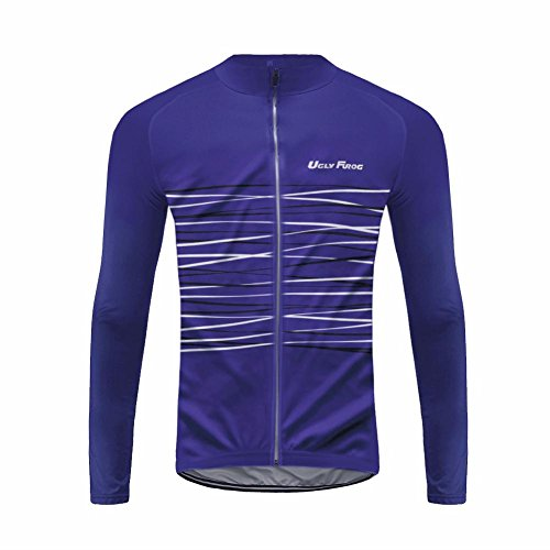 Uglyfrog 2017 UG9 New Classical Thermal Fleece Winter Long Sleeve Cycling Jersey Mountain Triathlon - Clothing Triathlon Sydney