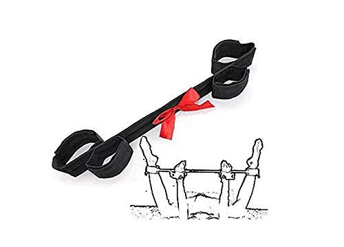 Pavian Adjustable Spreader Bar with 4 Straps Set Yoga Sport ()