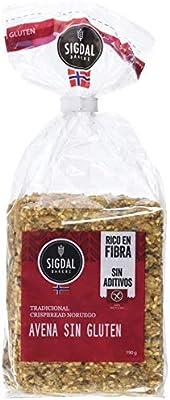Sigdal Bakeri, Crispbread SIN GLUTEN de Avena - 7 de 190 gr ...