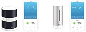 Additional Indoor Module for Netatmo Weather Station - Retail Packaging - Aluminium & Wireless Anemometer with Wind Speed and Direction Sensor – Wind Gauge for Netatmo Weather Station