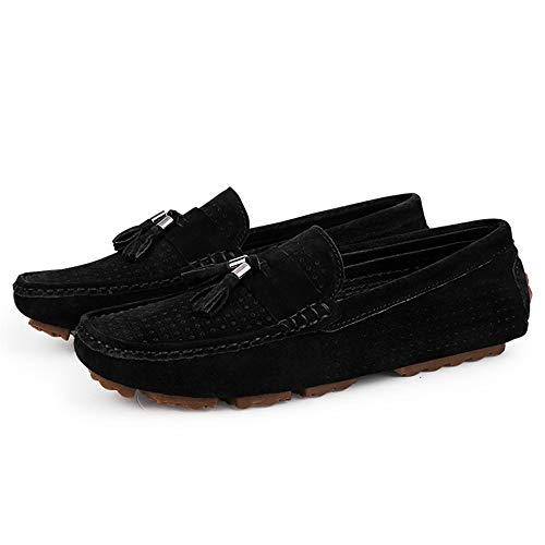 in Wider da British uomo scamosciata Mocassini Cavo Dimensione casual Nappa Nero Fitting Color EU Leggero Scarpe Mocassini Ofgcfbvxd Slip Blu On per pelle barca 42 6IqwvxE8E
