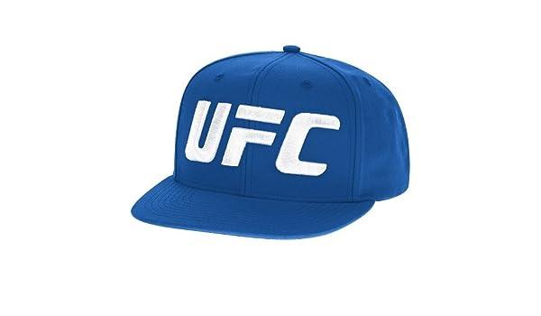 Reebok UFC Lucha de los hombres semana Fighter Flat Brim Gorra, hombre, VR38Z, azul, talla única: Amazon.es: Deportes y aire libre