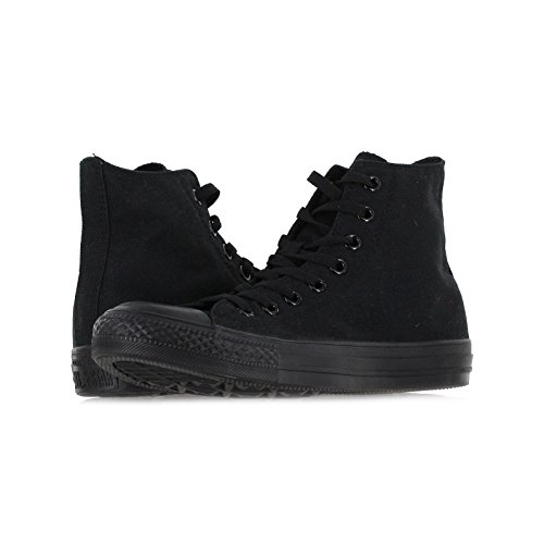 Converse Mens Chuck Taylor All Star High Top, 13 D(M) US, Black Monochrome by Converse (Image #4)