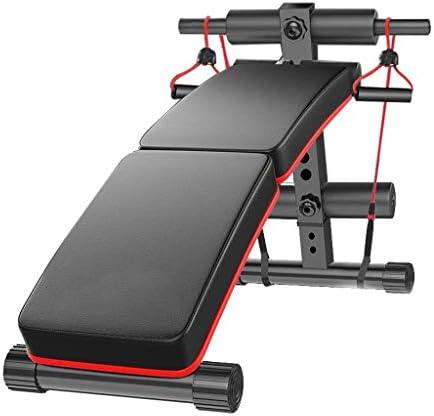 LAZ ウエイトベンチホームジム調節可能なベンチ腹部腹筋運動エクササイザーダンベルベンチ、多機能筋力トレーニングフィットネストレーニングステーション
