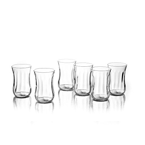 (Style Setter Silhouette Shot Glasses (Set of 6), Clear)