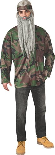 Rubie's Men's Duck Hunting Season Hunter Camo Adult Costume Jacket, Multi, X-Large