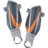 Nike Charged Soccer Shinguards Armory Blue/Wolf Grey/Hyper Crimson Size Small