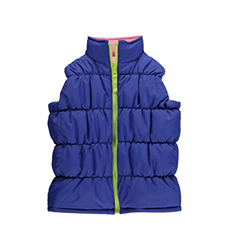 Childrens Hartstrings Clothing - Hartstrings Christmas Little Little Girls Reversible Puffer Vest, Pink Sapphire