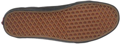 Suede Cuero Zapatillas Negro Hombre Vans de wqzpxyP