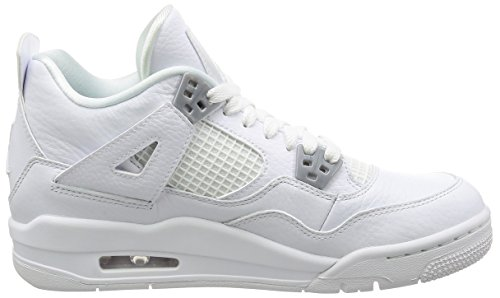 AIR JORDAN 4 RETRO BG (GS) 'PURE MONEY' - 408452-100