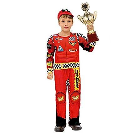 Disfraz Piloto Rally niño infantil para Carnaval (2-4 años)