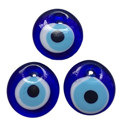 Mystic Jewels New Turkish Glass Evil Eye Wall Hanging Ornament - Home House Car Gift Collectable Good Luck ()