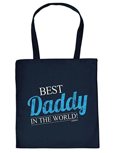 Best Daddy .. -testina Per Borsa A Mano Con Impronta. Borsa Per Il Trasporto, Must-have, Borsa Di Stoffa. Regalo