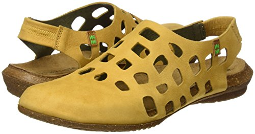 Wakataua Sandali Giallo N5060 Donna Closed toe curry Naturalista El Pleasant t6wq4x7