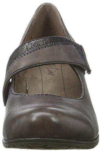 24460 Softline de para Mujer Taupe Tacón Zapatos Beige aAdqp