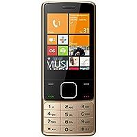 Darago F18 Dual SIM Mobile Phone - 2G, 2.8 Inch, Golden