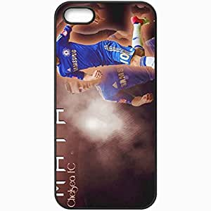 Personalized iPhone 5 5S Cell phone Case/Cover Skin 2013 lovely juan mata Black