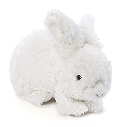 Amazon Com Gund Stuffed Animal 14 White Realistic Rabbit Toys Games
