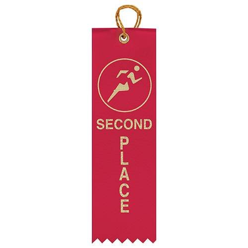 Image Award Ribbons ATHL Ribbon 2nd Place 50 Pack