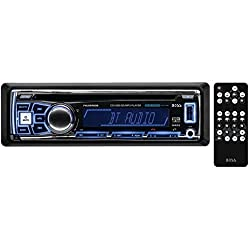 BOSS AUDIO 762BRGB Single-DIN In-Dash AM/FM/CD Receiver with RGB Illumination (With Bluetooth(R)) consumer electronics