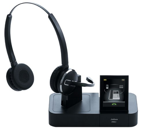 e5a296aab07 Jabra PRO 9460 Duo DECT Headset: Amazon.co.uk: Electronics