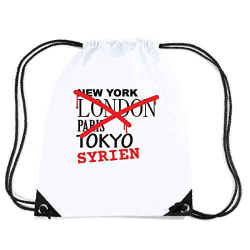 JOllify SYRIEN Turnbeutel Tasche GYM4949 Design: Graffiti Streetart New York PvPcDDd