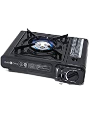 Gas ONE GS-1000 7,650 BTU Portable Butane Gas Stove Automatic Ignition with Carrying Case, CSA Listed