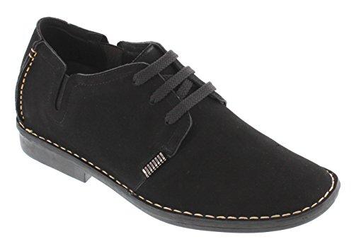 Toto X585601-2.6 Inches Taller - Hoogte Toenemende Liftschoenen - Zwarte Lichtgewicht Casual Schoenen