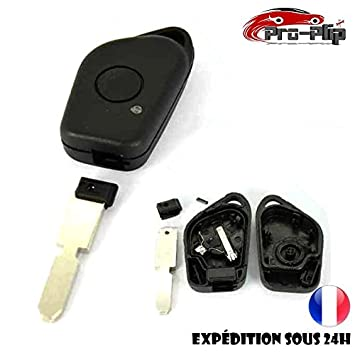 Carcasa Llave Mando a distancia Peugeot 406 607 405 306 Miniluz HF – @ pro-plip