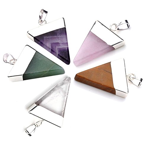 Top Plaza Pyramid Triangle Pendants