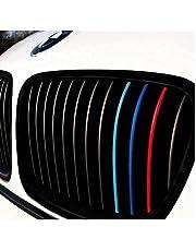 Generisch Niersticker lichtblauw blauw rood M kleuren performance sticker rooster grille grille sierstrepen sticker autosticker