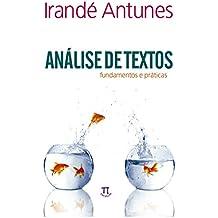 Análise de Textos. Fundamentos e Práticas - Volume 2