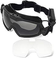 H World Shopping Fan Version Cooler Airsoft Glass Regulator Goggles Ski Snowboard Bike Sports
