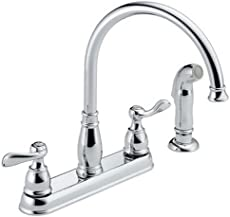 Delta Windemere 21996LF Two Handle Kitchen Faucet, Chrome