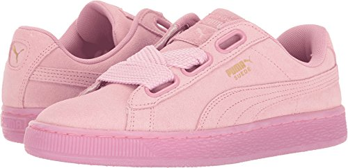competitive price 5f498 8afaf PUMA Women's Suede Heart Reset WN's Fashion Sneaker, Prism Pink-Prism Pink,  8.5 M US