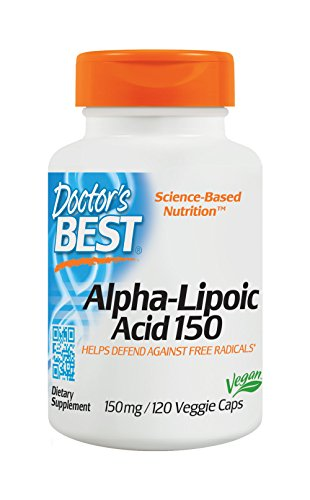 Doctors Best Alpha Lipoic Non GMO Promotes