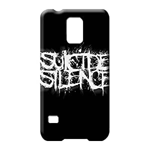 samsung galaxy s5 Eco Package High-definition fashion mobile phone skins suicide silence