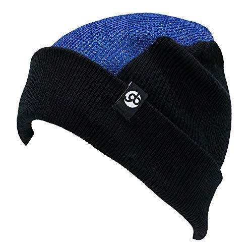 (Headspin Beanie Elite - The Classic Bboy Spin Cap (Blue/Black))