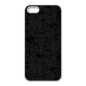 iPhone 5 5s Cell Phone Case White Animals Pattern JSK791535