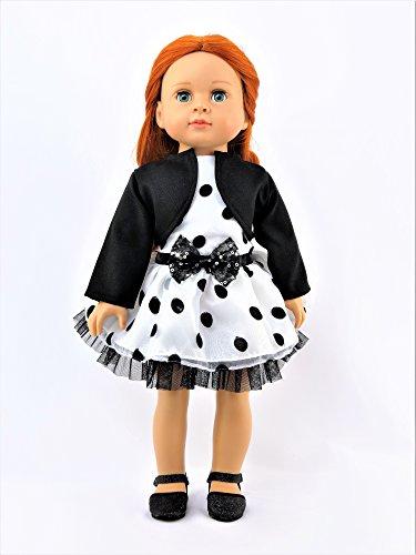 Black And White Polka Dot Stroller - 2