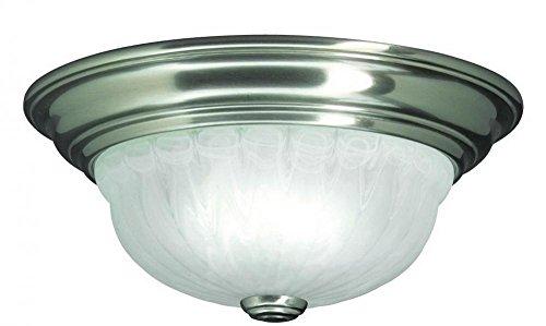 - Dolan Designs 521-09 1Lt Satin Nickel Richland 1 Light Flushmount