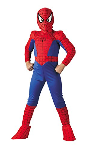 All Spiderman Comic Costumes (Boys - Spiderman Ch Dlx Comic 12-14 Halloween Costume)