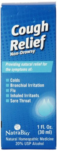- Natrabio Cough Relief, 1 Ounce